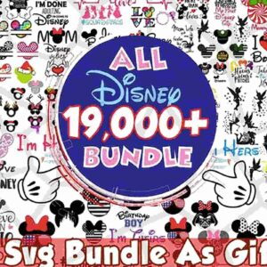 Disney bundle svg, Disney svg, Disney clipart, Disney cut files, Disney family svg, Disney castle svg, disney princess set.