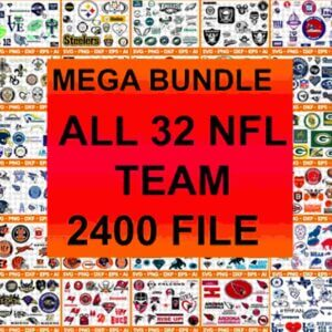 All teams NFL SVG,SVG Files For Silhouette, Files For Cricut, SVG, DXF, EPS, PNG