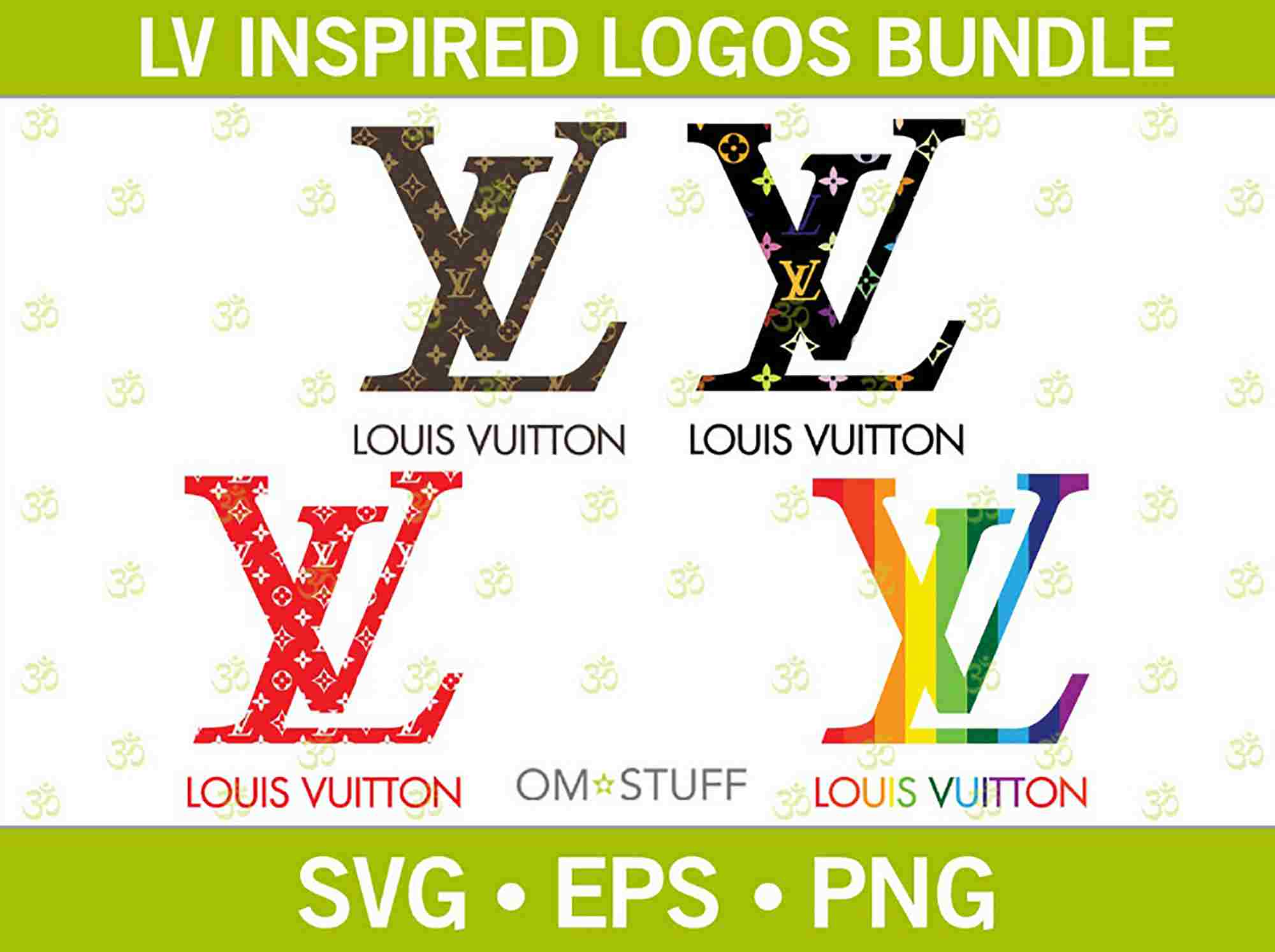 Louis Vuitton Svg Bundle Louis Vuitton Svg Louis Vuitton Logo