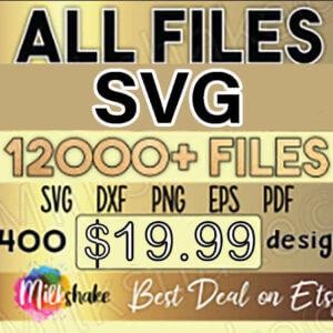 All Files Bundle Svg, Whole Shop SVG Dxf Bundle, Clipart Svg, files for Silhouette Files for Cricut Files Cut Files