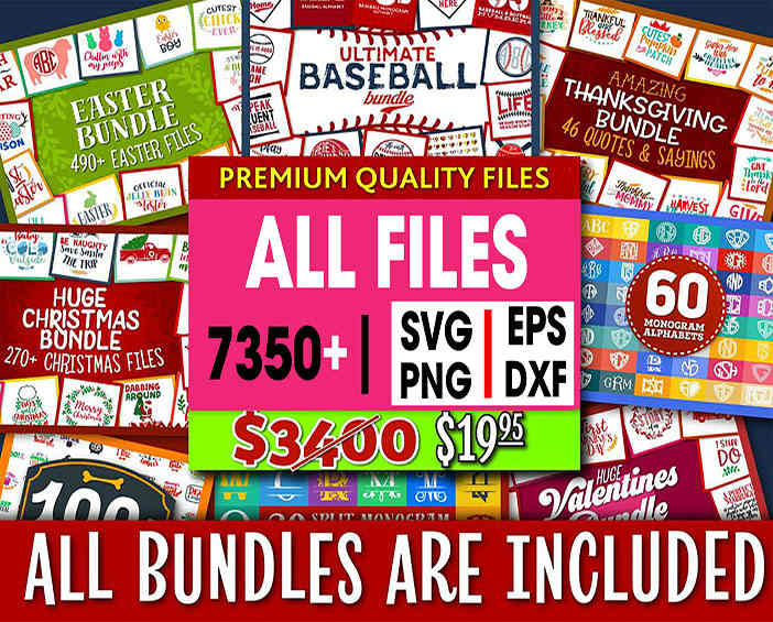 Svg Bundle In Svg Formats Svg Files For Silhouette Files For Cricut Cut Files Digitale Svg