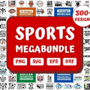 300+ Sports Mega Bundle, Gym bundle, Hockey bundle and More