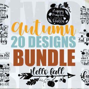 Autumn Quotes Bundle – 20 Premium Designs