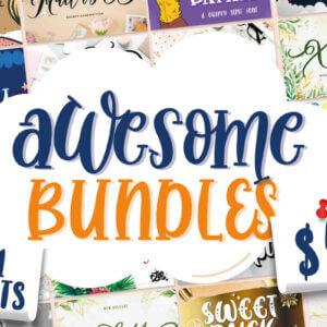 Awesome Fonts Bundle Vol 01
