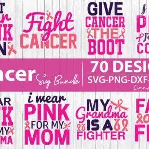 Breast Cancer Quotes Bundle Vol 1