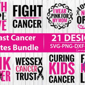 Breast Cancer Quotes Bundle Vol 2