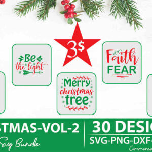 Christmas SVG Bundle Vol 2