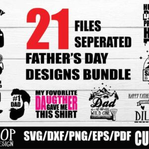 Happy Fathers Day SVG Bundle, Happy Father's Day 2020, World's Greatest Father