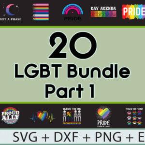 140 LGBT Proud Bundle – 7 Parts