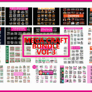 350+ Mega Craft Bundle