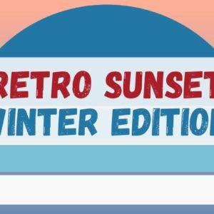 Winter Retro Sunset Bundle