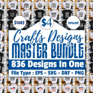 800+ The Master Bundle of Crafts