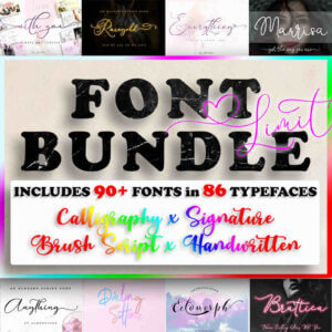 All Collections – Font Bundle