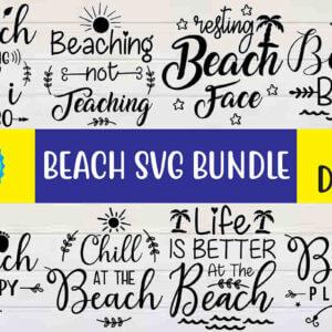Beach SVG Bundle