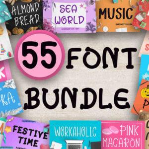 Big Fonts Bundle Vol-2
