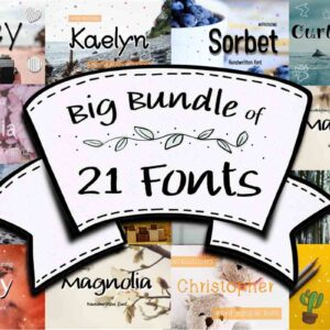 Big Fonts Bundle Vol-4