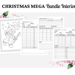 Christmas Mega Interior Bundle