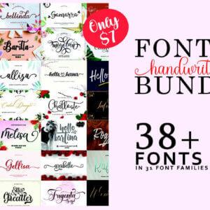 Font Collection Bundle Vol-2