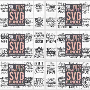 Mother's Day SVG Mega Bundle