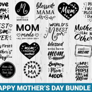Happy Mother's Day Bundle